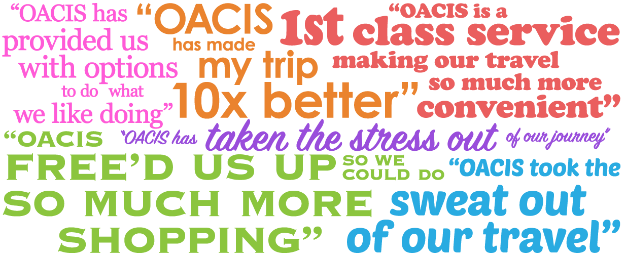 OACIS | Baggage Transfer Solutions - Testimonials
